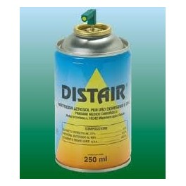 DISTAIR insetticida spray ad azione repellente e abbattente formato da 250 ml